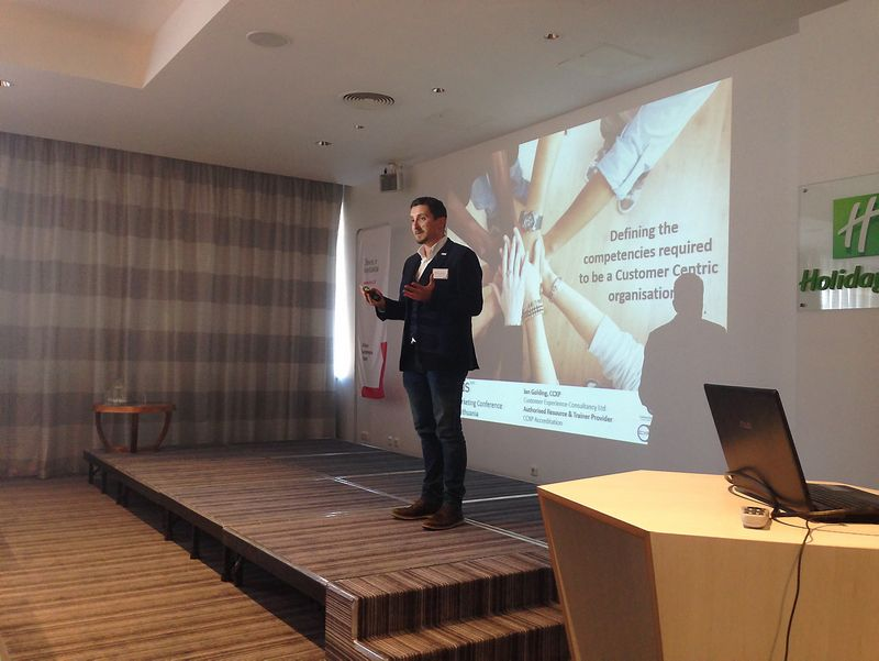 Ianas Goldingas, nepriklausomas klientų patirčių konsultantas iš Didžiosios Britanijos. Organizatorių nuotr.