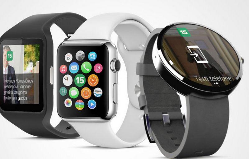 """Dienos šviesą išvydo """"15min"""" programėlės """"Android"""" ir """"watchOS"""" operacinių sistemų laikrodžiams. Bendrovės nuotr."""