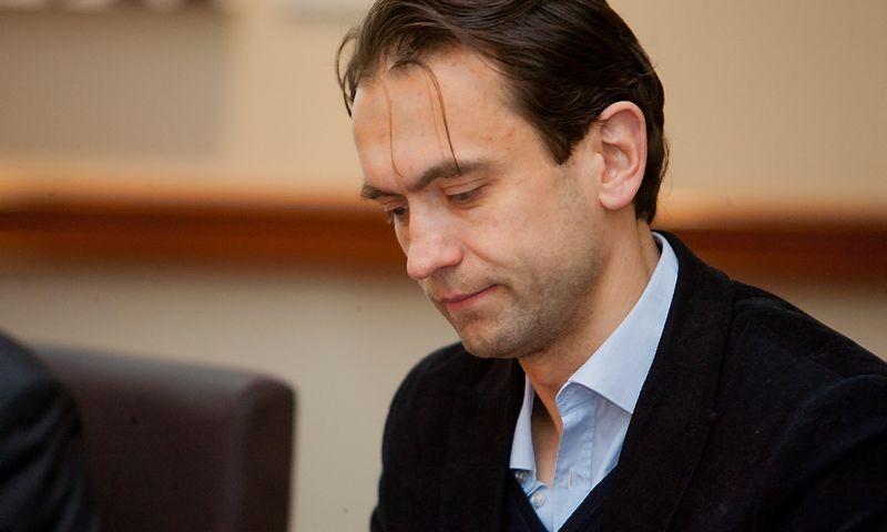 """Šarūnas Šiugžda, rizikos kapitalo fondo """"Litcapital"""" įkūrėjas ir vadovaujantis partneris. Vladimiro Ivanovo (VŽ) nuotr."""