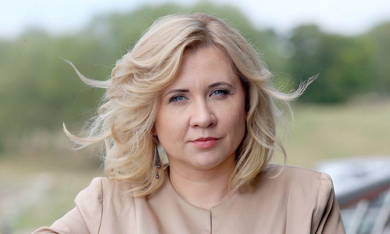 """Janina Sabaitė Melnikovienė, """"Achemos atstovė ryšiams su visuomene. Algimanto Barzdžiaus nuotr."""