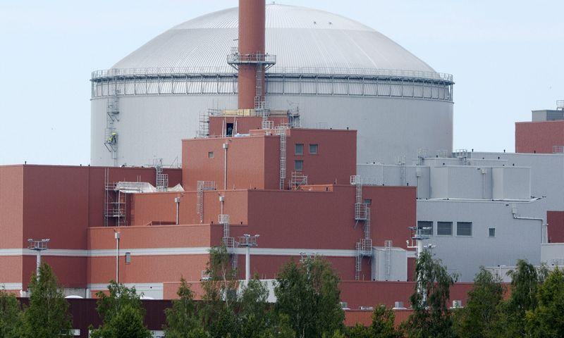 """""""Olkiluoto-3"""" branduolinis reaktorius Suomijoje – ES branduolinės energetikos nesėkmių simbolis. Jussi Nukari (""""REUTERS"""") nuotr."""