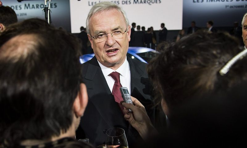 "Martinas Winterkornas palieka ""Volkswagen"" koncerną. ""Scanpix"" nuotr."