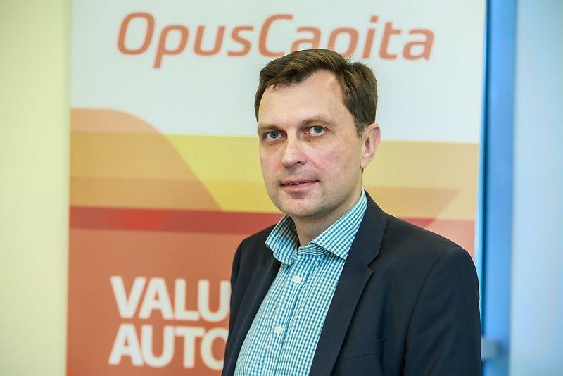 """Audrius Kirklys, UAB """"Opus Capita"""" generalinis direktorius. Vladimiro Ivanovo (VŽ) nuotr."""