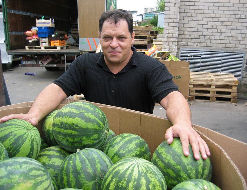 """Regimantas Didzinskas, UAB """"Citma"""" vadovas ir bendraturtis: """"Pasaulyje yra keletas didžiųjų vaisių tiekėjų, kuriuos žino tiek mūsų konkurentai, tiek prekybos tinklai. Todėl kaina Lietuvoje, jei dirbi legaliai, nepakonkuruosi, gali išlikti tik teikdamas kokybiškas paslaugas."""" Mariaus Danazo nuotr."""