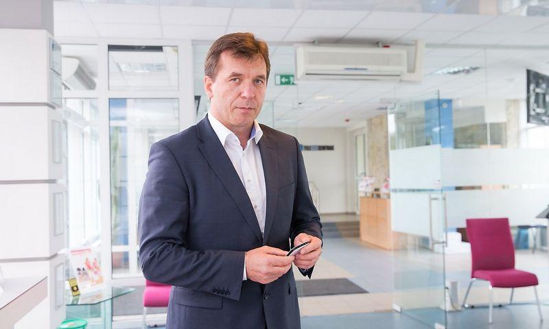 """Remigijus Šeris, AB """"Lietuvos radijo ir televizijos centras"""" generalinis direktorius.  Juditos grigelytės (VŽ) nuotr."""