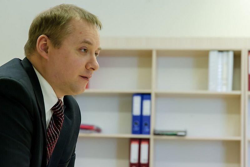 Mantas Valužis, verslo konsultantas, Socialinių mokslų kolegijos finansų katedros dėstytojas. Vladimiro Ivanovo (VŽ) nuotr.