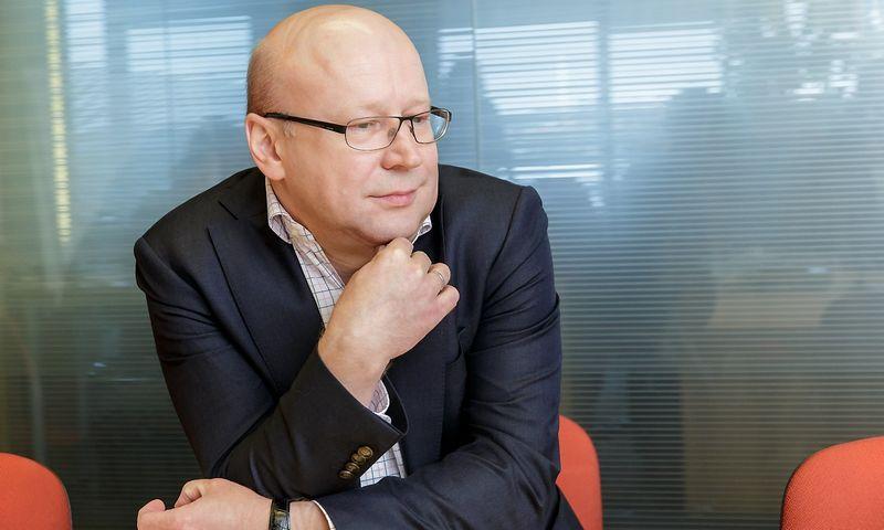"""Evaldas Budvilaitis, informacinių technologinių sprendimų UAB """"New Vision Baltija"""" generalinis direktorius. Vladimiro Ivanovo (VŽ) nuotr."""