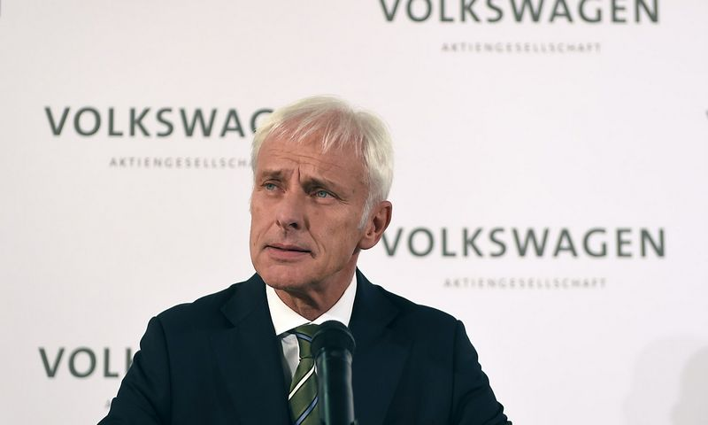 "Matthias Muelleris, naujasis ""Volkswagen"" vadovas. Fabiano Bimmerio (""Reuters"" / ""Scanpix"") nuotr."