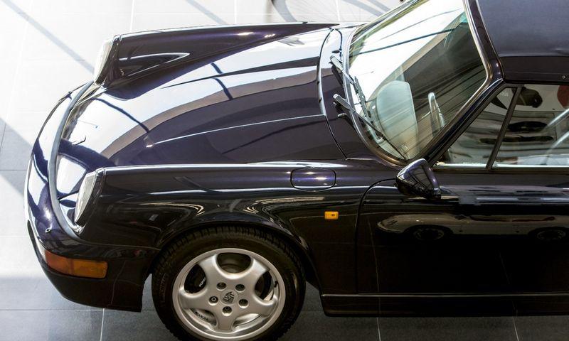 """Klasikiniai """"Porsche"""" bus remontuojami Lietuvoje. Vladimiro Ivanovo (VŽ) nuotr."""