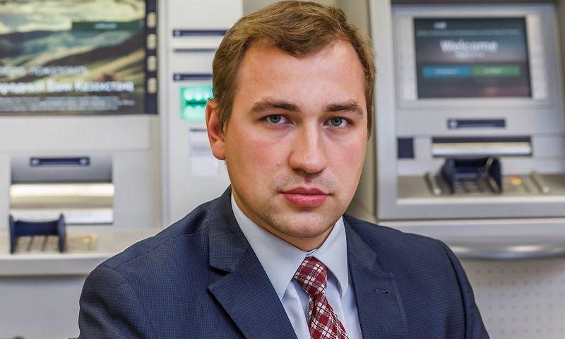 """Tomas Augucevičius, UAB """"Penkių kontinentų bankinėstechnologijos"""" direktoriaus pavaduotojas. Vladimiro Ivanovo (VŽ) nuotr."""