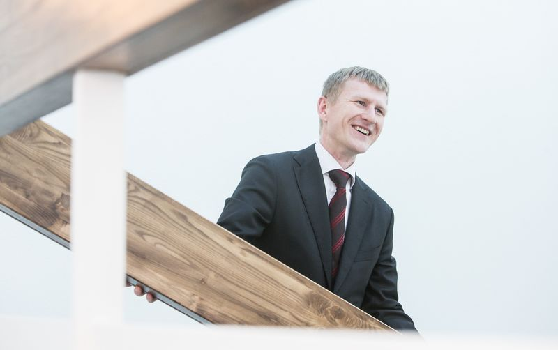 """Dr. Paulius Miliauskas, advokatų kontoros """"Confidence"""" partneris ir advokatas. Juditos Grigelytės (VŽ) nuotr."""