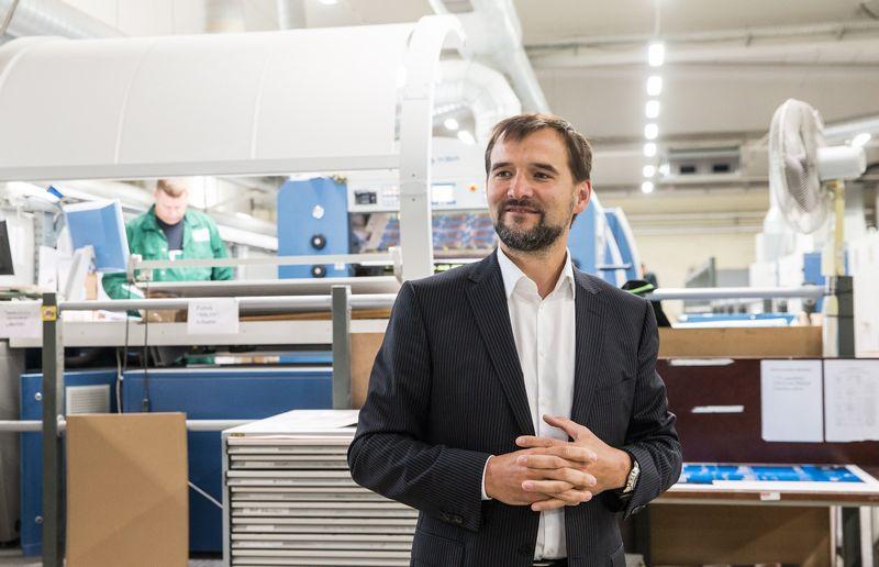 """Vytautas Mieliauskas, UAB """"Garsų pasaulis"""" generalinis direktorius. Juditos Grigelytės (VŽ) nuotr."""