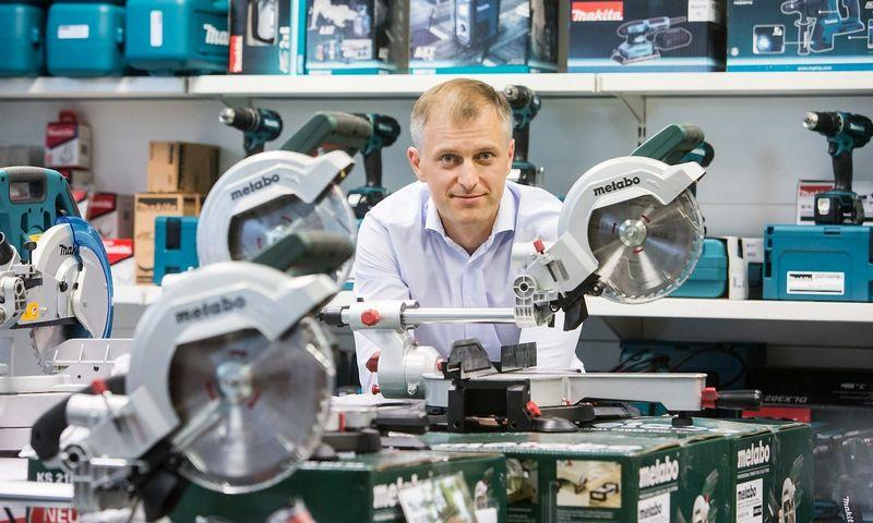 """Kęstutis Daukševičius, UAB """"Įrankiai.lt"""" savininkas: """" Logistika yra įdomiausias dalykas ir didžiausias iššūkis kuriant šį verslą."""" Juditos Grigelytės (VŽ) nuotr."""