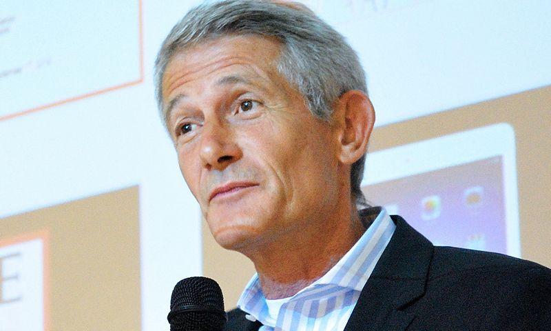Robinas Edmanas, Švedijos industrinio dizaino fondo vadovas. Gretos Jankaitytės (VŽ) nuotr.