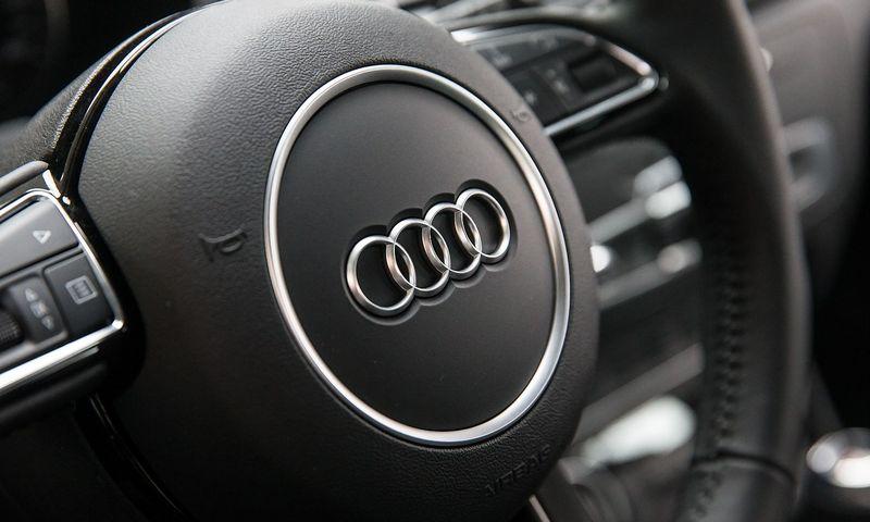 """""""Audi"""" suskaičiavo, kad pasaulyje 2,1 mln. jų pagamintų automobilių turi taršos rodiklius suklastoti gebančią programinę įrangą. Juditos Grigelytės (VŽ) nuotr."""