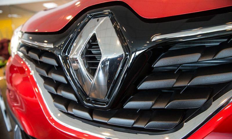 """""""Renault"""" pasirašė susitarimą dėl elektromobilių gamybos Kinijoje. Juditos Grigelytės (VŽ) nuotr."""