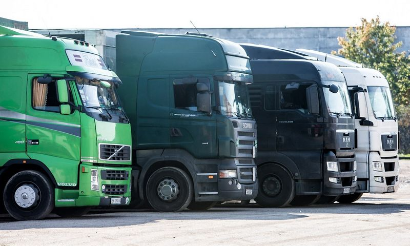 Naujo komercinio transporto registruojama daugiau. Juditos Grigelytės (VŽ) nuotr.