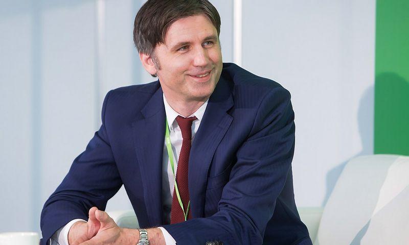 """Arvydas Žilinskas, UAB """"Vilniaus prekyba"""" grupės Korporatyvinių ryšių vadovas. Juditos Grigelytės (VŽ) nuotr."""