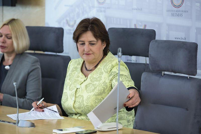 Loreta Graužinienė, Lietuvos Respublikos Seimo pirmininkė. Vladimiro Ivanovo (VŽ) nuotr.