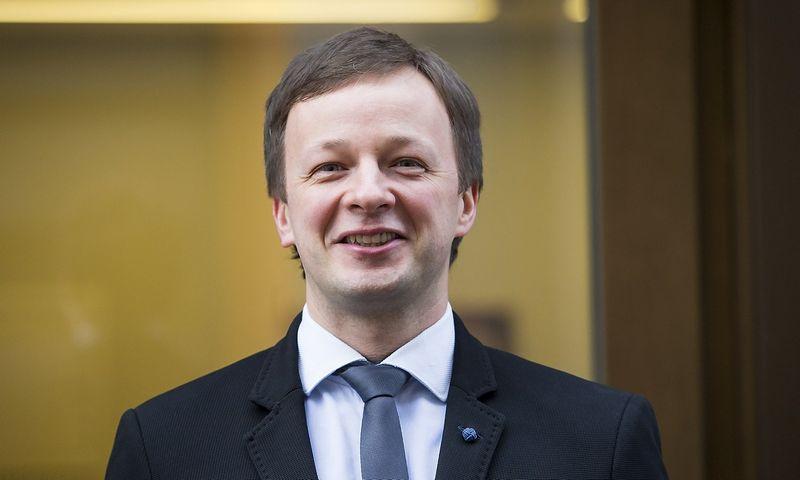 """Benas Adomavičius, """"ISM Executive School"""" Strateginio valdymo modulio  vadovas. Vladimiro Ivanovo nuotr."""