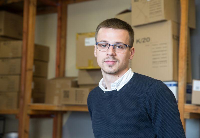 """Jonas Jarmolavičius, Vilniaus UAB """"Supakuota"""" direktorius. Juditos Grigelytės (VŽ) nuotr."""