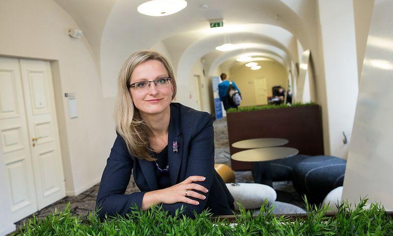 """Raimonda Alonderienė, personalo valdymo UAB """"CRC Consulting"""" vyr. konsultantė ir ISM vadybos ir ekonomikos universiteto docentė. Juditos Grigelytės (VŽ) nuotr."""