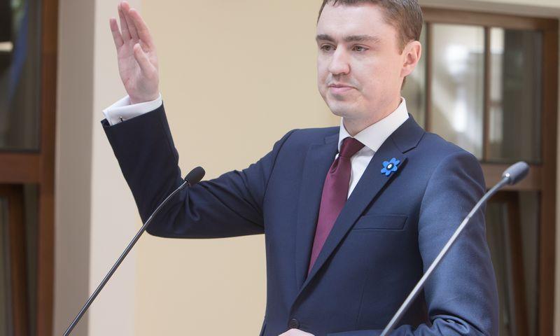Taavis Roivas, Estijos premjeras.  Juditos Grigelytės nuotr.