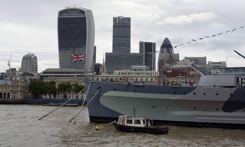 City of London. (SipaPress / Scanpix)