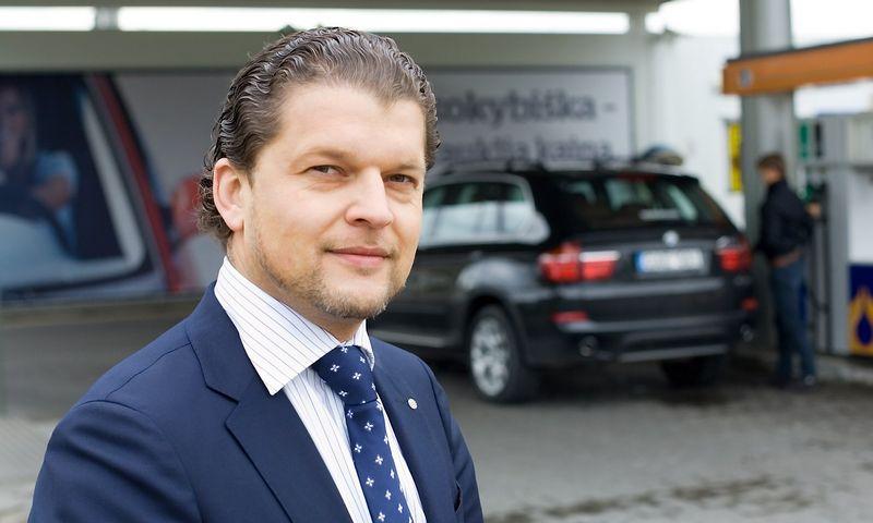 "Skirmantas Mačiukas, ""Statoil Fuel & Retail Lietuva"" vadovas. Vladimiro Ivanovo (VŽ) nuotr."