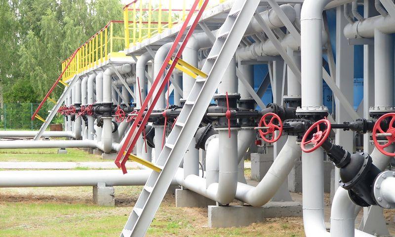 Inčukalnio dujų saugykla Latvijoje. Naglio Navako (VŽ) nuotr.