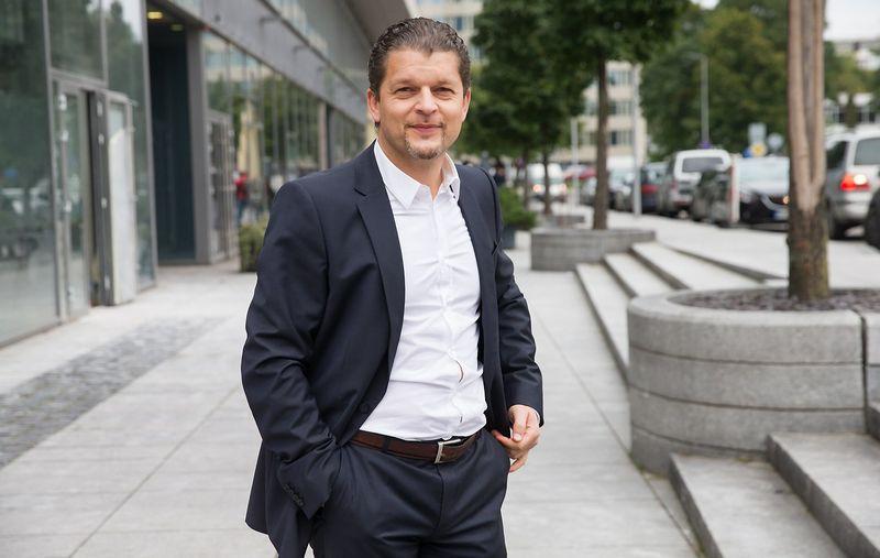 """Skirmantas Mačiukas """"Statoil Fuel & Retail"""" vadovo pareigas pradėjo eiti nuo spalio pradžios. Juditos Grigelytės (VŽ) nuotr."""