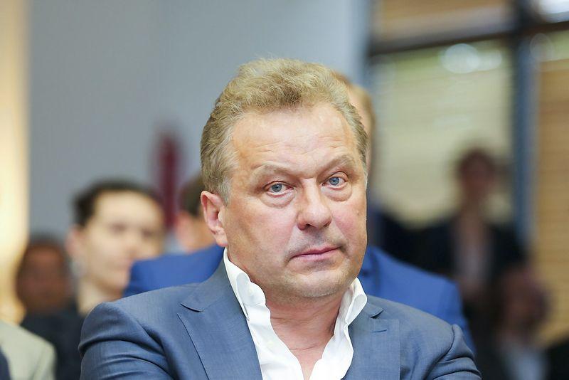 """""""Apranga"""" valdybos narys, generalinis direktorius Rimantas Perveneckas, """"15min.lt"""" / """"Scanpix"""" nuotr."""