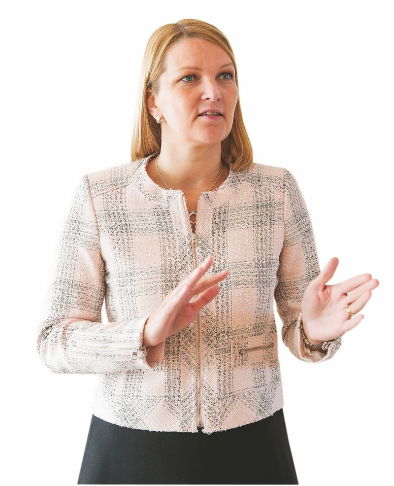 2015 09 17. Mari Kiviniemi, Europos bendradarbiavimo ir plėtros organizacijos generalinio sekretoriaus pavaduotoja. Juditos Grigelyt?s (V?) nuotr.