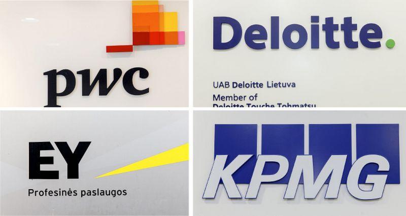 """""""PwC"""", """"Deloitte"""", EY ir KPMG sparčiausiai besiplečiančių skyrių veikla nėra susijusi su auditu – jie teikia konsultavimo paslaugas."""
