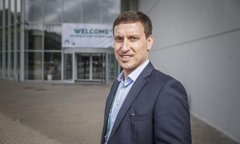 """Kristjanas Linkovas, įmonės """"Elpa"""" vadovas: """"Pieną, kol galėjome, parduodavome lietuviams. Kitaip nei daugelis mažų vietinių perdirbėjų, jie buvo patikimi partneriai.""""  Vladimiro Ivanovo (VŽ) nuotr."""