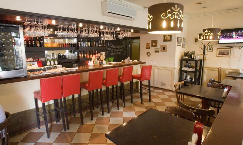 """Šeimyninis restoranėlis """"Osteria da Luca"""" nuo pat įsikūrimo yra savotiška namų maisto ir namų šilumos vieta. Vladimiro Ivanovo (VŽ) nuotr."""