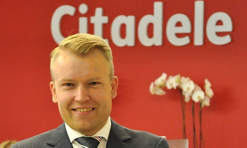 """Martynas Kaminas, """"Citadele"""" Produktų vystymo departamento direktorius. Bendrovės nuotr."""