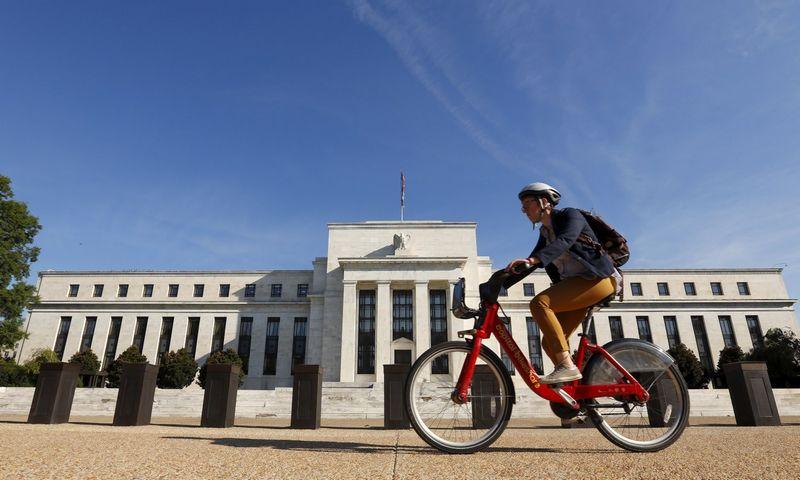 """FED būstinė Vašingtone. (""""Reuters"""" / """"Scanpix"""") nuotr."""