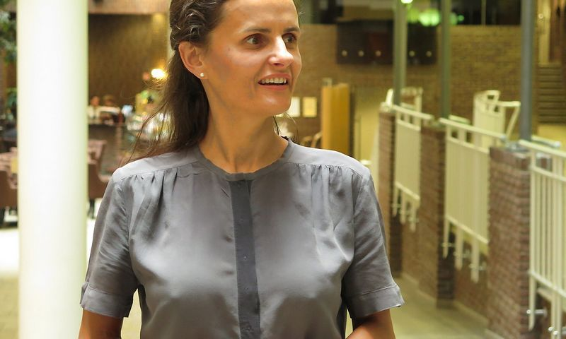 "Elina Liepina, ""Samsung Electronics Baltics"" rinkodaros vadovė. Naglio Navako (VŽ) nuotr."