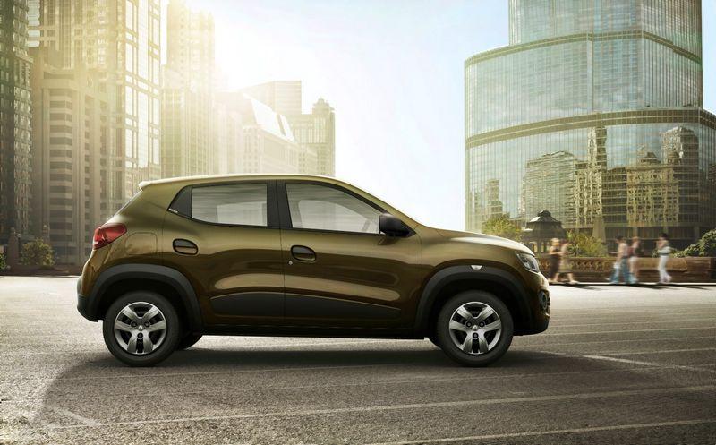 """""""Renault"""" išleido besivystančioms šalims skirtą """"Kwid"""" modelį. Gamintojo nuotr."""