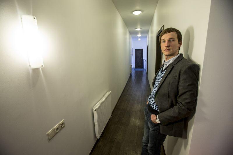 """Vytautas Zabulis, """"Savy.lt"""" valdančios """"Bendras finansavimas"""" direktorius. Vladimiro Ivanovo (VŽ) nuotr."""