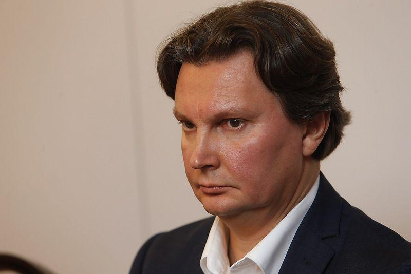 """Kęstutis Šliužas, """"Teo"""" vadovas. Vladimiro Ivanovo (VŽ) nuotr."""