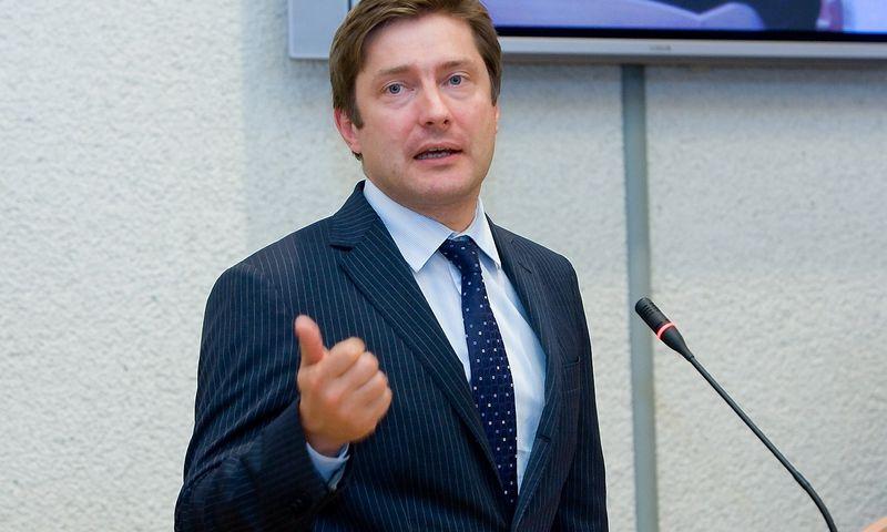 Rimantas Žylius, NRD vykdantysis direktorius. Juditos Grigelytės (VŽ) nuotr.