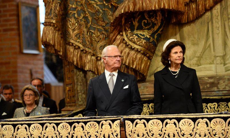 """Švedijos karaliaus Karolio XVI Gustavo ir karalienės Silvijos gyvenimas ne visada sulaukdavo tik liaupsių. """"TT News Agency"""" nuotr."""