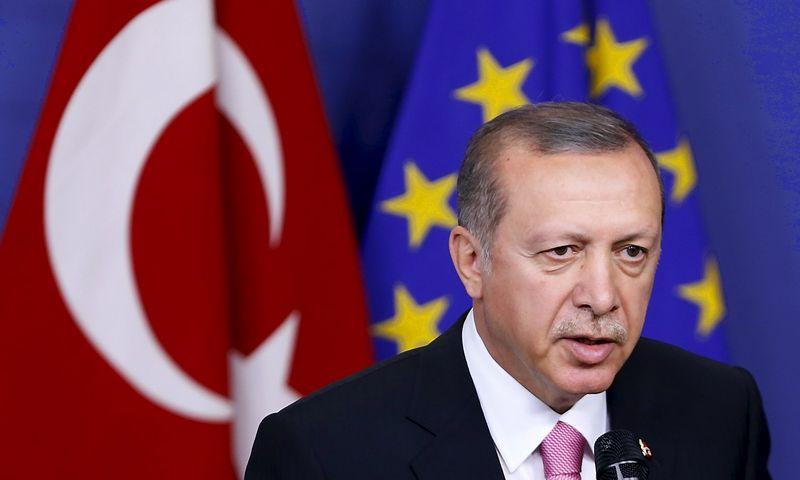 Turkey's President Tayyip Erdogan. REUTERS/Francois Lenoir