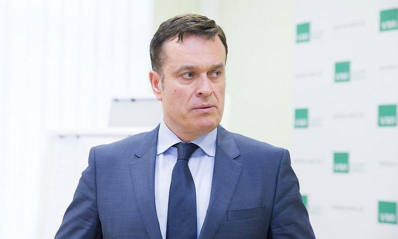 Dainoras Bradauskas, Valstybinės mokesčių inspekcijos viršininkas. Juditos Grigelytės (VŽ) nuotr.