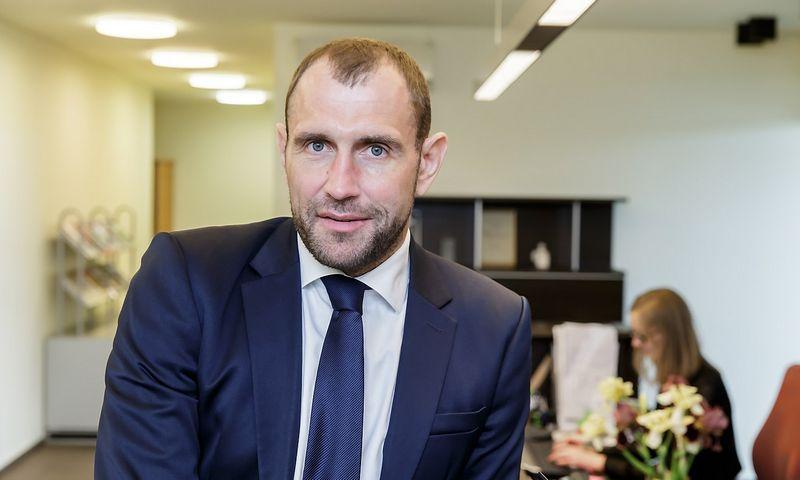 """Darius Šulnis, investicijų AB """"Invalda INVL"""" vadovas. Vladimiro Ivanovo (VŽ) nuotr."""
