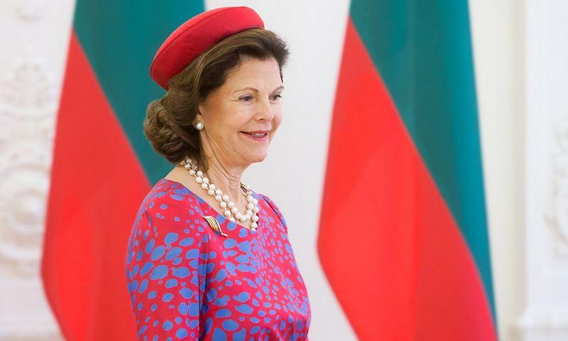 Švedijos karalienė Silvija. Juditos Grigelytės (VŽ) nuotr.