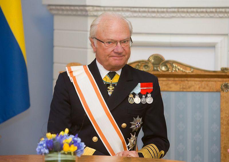 Švedijos karalius Karlas XVI Gustavas. Juditos Grigelytės (VŽ) nuotr.