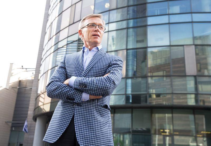 """Arvydas Avulis, nekilnojamojo turto AB """"Hanner"""" valdybos pirmininkas. Juditos Grigelytės (VŽ) nuotr."""